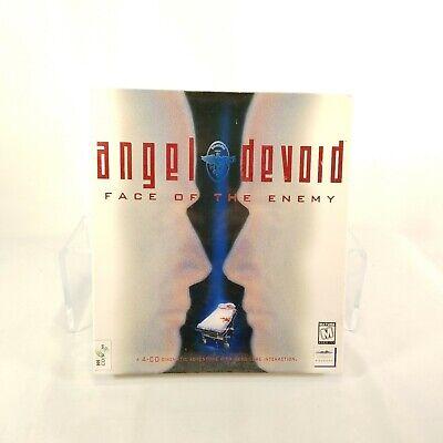 Sealed Angel Devoid Face of the Enemy 1995 Vtg PC Big Box Mindscape Adventure P1