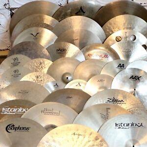Incroyable collection de Cymbales usagées