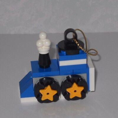 ******NEW LEGO CHRISTMAS, BLUE HOLIDAY MINI TRAIN: ENGINE ORNAMENT******