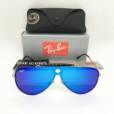 Ray-Ban Sunglasses Blaze Shooter RB3581  Size (3232) Violet/Blue Mirror Lenses (Sunglasses Blaze)