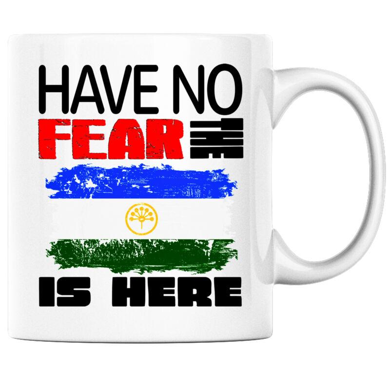 Have No Fear the Bashkir is Here Funny Coffee Mug Bashkortostan Heritage Pride