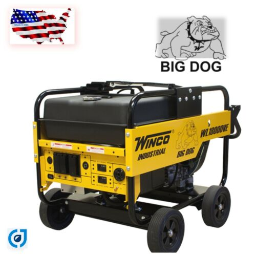 "Winco Generator ""Big Dog Series""  WL18000VE  24018-00Warranty 3 Gen / 2 Yrs Eng"