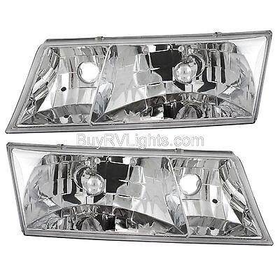NEWMAR MOUNTAIN AIRE 2003 HEADLIGHTS CORNER TURN SIGNAL SET 4 PCS HEAD LAMPS RV