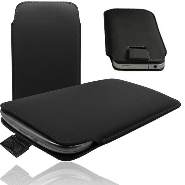 MX Slim Cover Case Schutz Hülle Etui Pull Tab Tasche für Huawei Honor 7