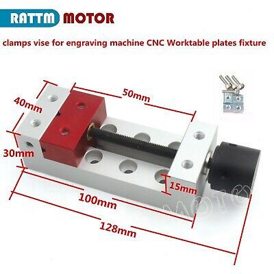 Clamp Vise For Mini Cnc Engraving Machine 3018 2418 Fastening Plates Fixture