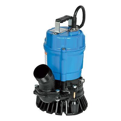 Tsurumi Pumps Submersible Trash Pump-3000 Gph 12 Hp 2in Hs2.4s