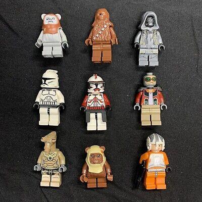 Lego Star Wars Minifigures X9 Lot AI