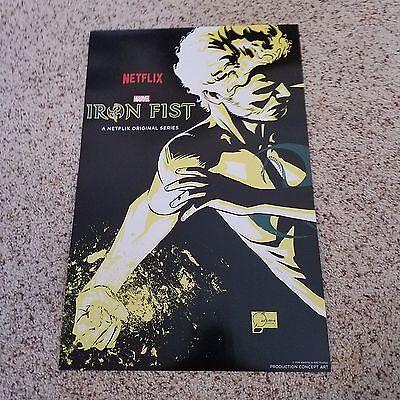 New York Comic Con 2016 - NYCC 2016 - Iron Fist Netflix Poster