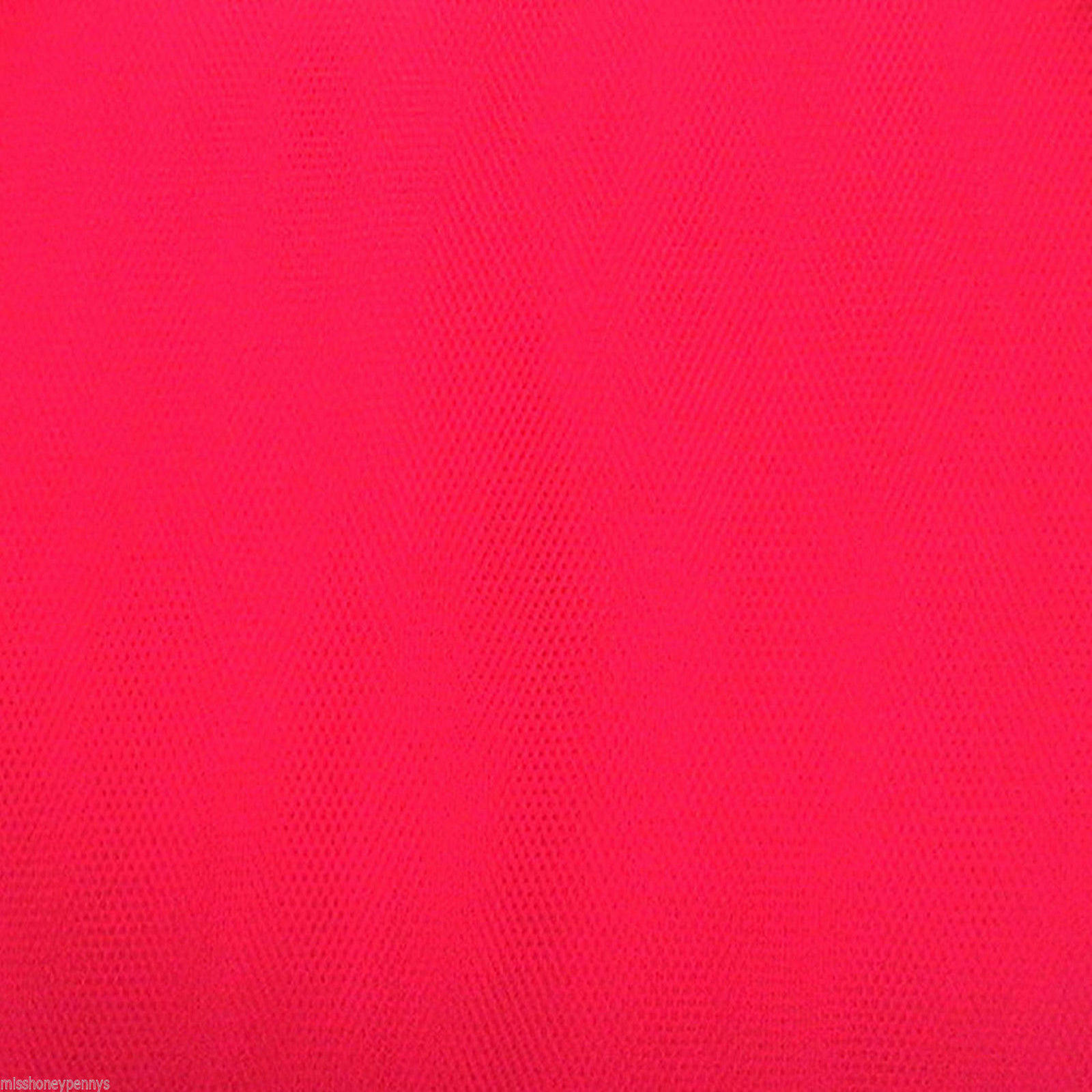 NEON CERISE PINK TUTU 80s FANCY DRESS NET TULLE FABRIC ...
