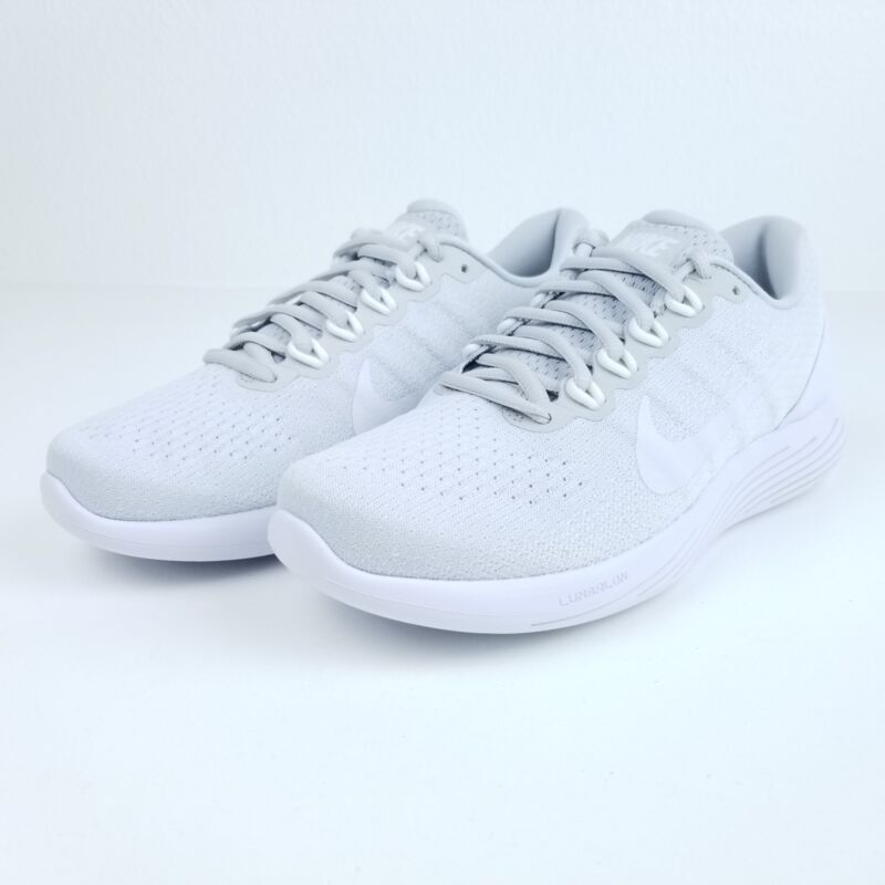 4eba855128da9 Nike Lunarglide 9 Platinum White Men s Running Shoes 904715 003 Sizes