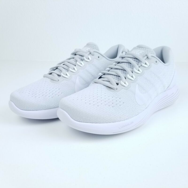 4a7123d90315 Nike Lunarglide 9 Platinum White Men s Running Shoes 904715 003 Sizes