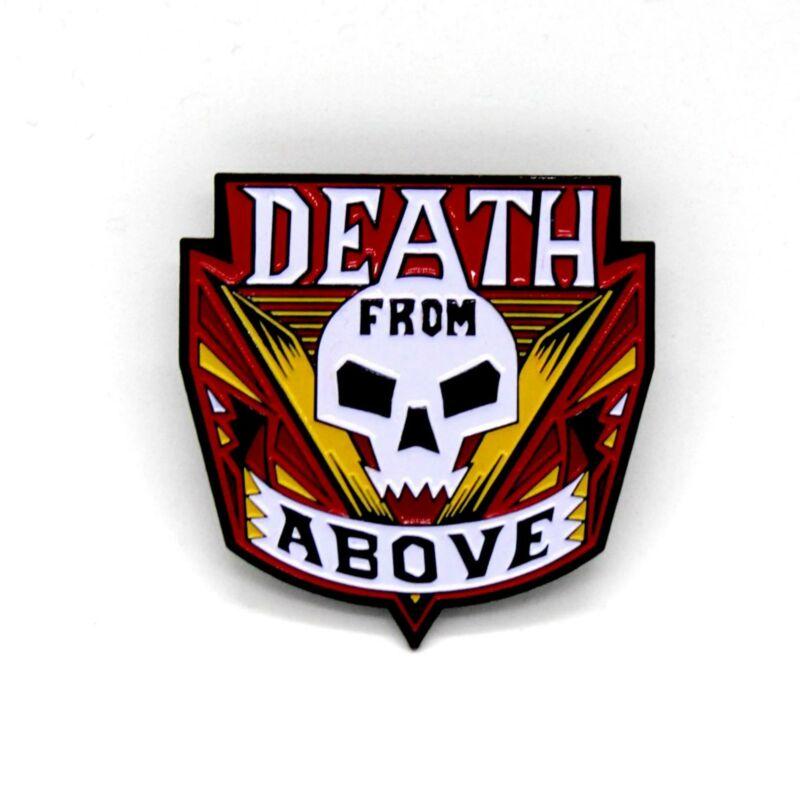 "Zobie Box - Limited Edition 2"" Enamel Lapel Pin - Starship Troopers - Death Vari"