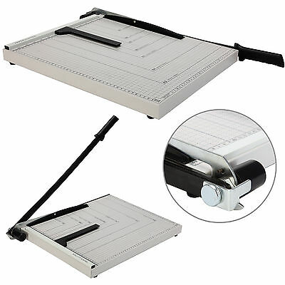 "18""x15"" Paper Cutter Guillotine Blade Metal Base A3 Trimmer Scrap Booking Office"