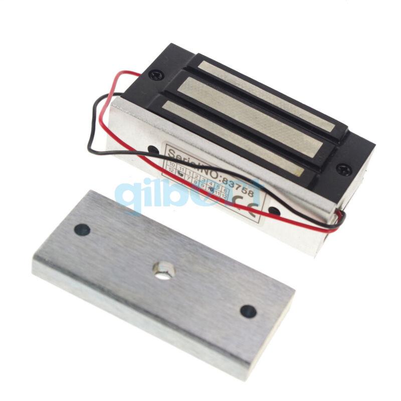 24VDC 100LB 60kg Electromagnetic Lock Magnetic Lock Force 300mA