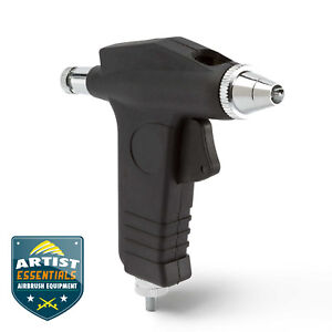 Single Action Trigger Style Airbrush with Propellant Adaptors