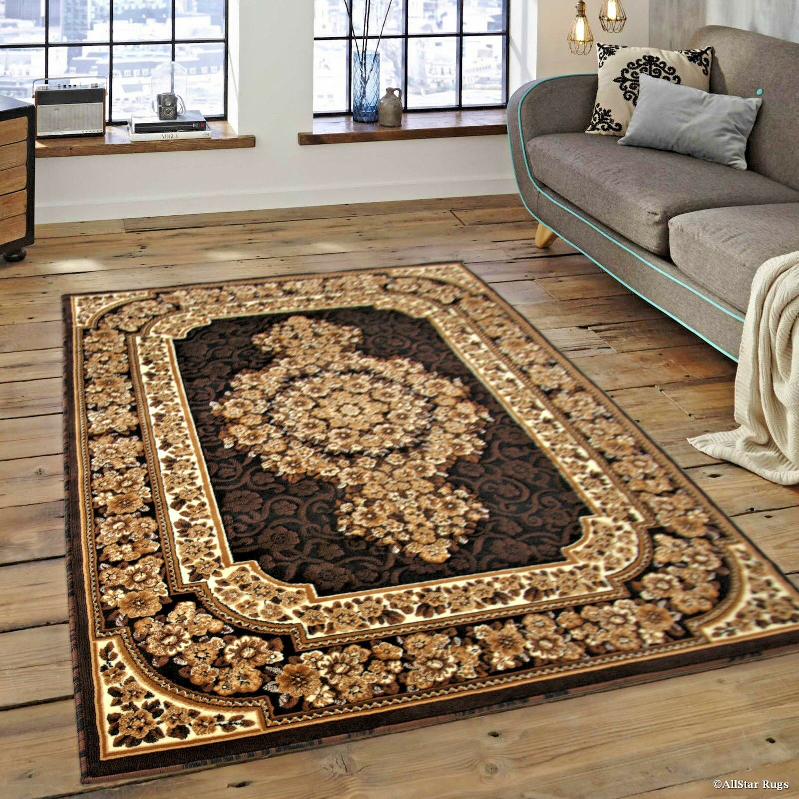 How Big Is 8x10 Rug.Details About Rugs Area Rugs Carpets 8x10 Rug Persian Oriental Large Floor Big Black 5x7 Rugs