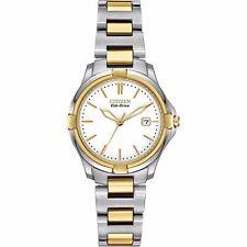 Citizen Eco-Drive Women's EW1964-58A Silhouette Quartz Two Tone Sport Watch