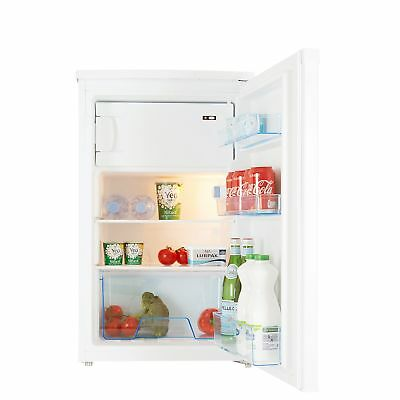 Cookology UCIB98WH 50cm Freestanding Undercounter Fridge & Ice Box in White