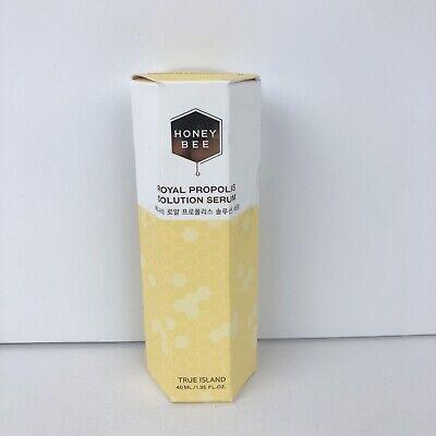 True Island Honey Bee Royal Propolis Solution Serum 1.35 fo oz 40ml Exp 10/2023