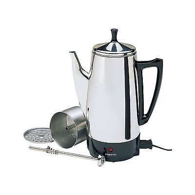 Presto® Coffee Maker - Stainless Bear up 02811