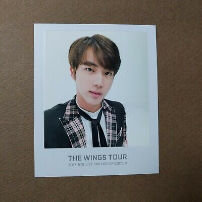 [Official] The Wings Tour Trilogy Ticket Polaroid Photocard [JIN]