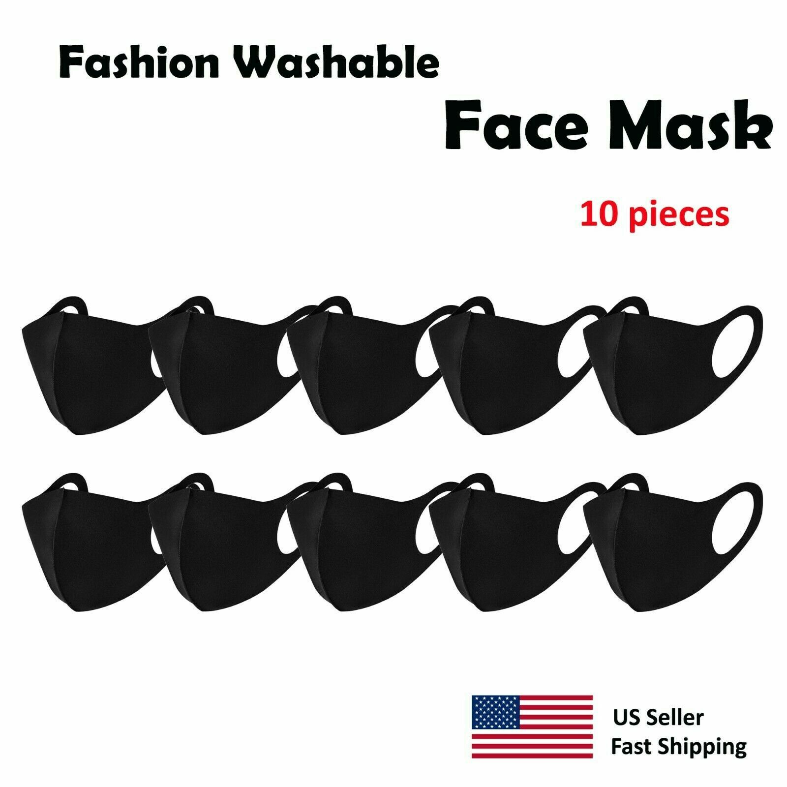 Fashion Face Masks, Unisex Mouth Mask, Reusable Washable Adult Accessories
