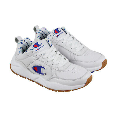 Champion 93 Eighteen Big CM100100M Mens White Casual Low Top