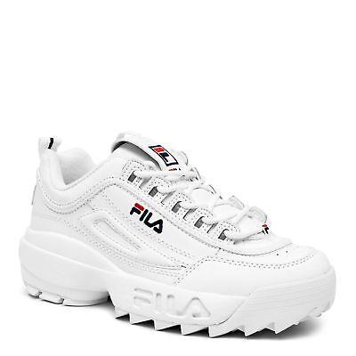 Fila Disruptor Ii White Peact Vred Fw01655 111 Mens