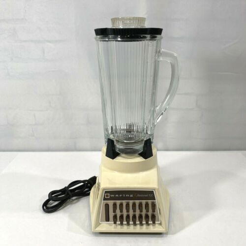 Vintage Waring Aristocrat 150 14-Speed Blender Model # 1201 with 40oz Pitcher