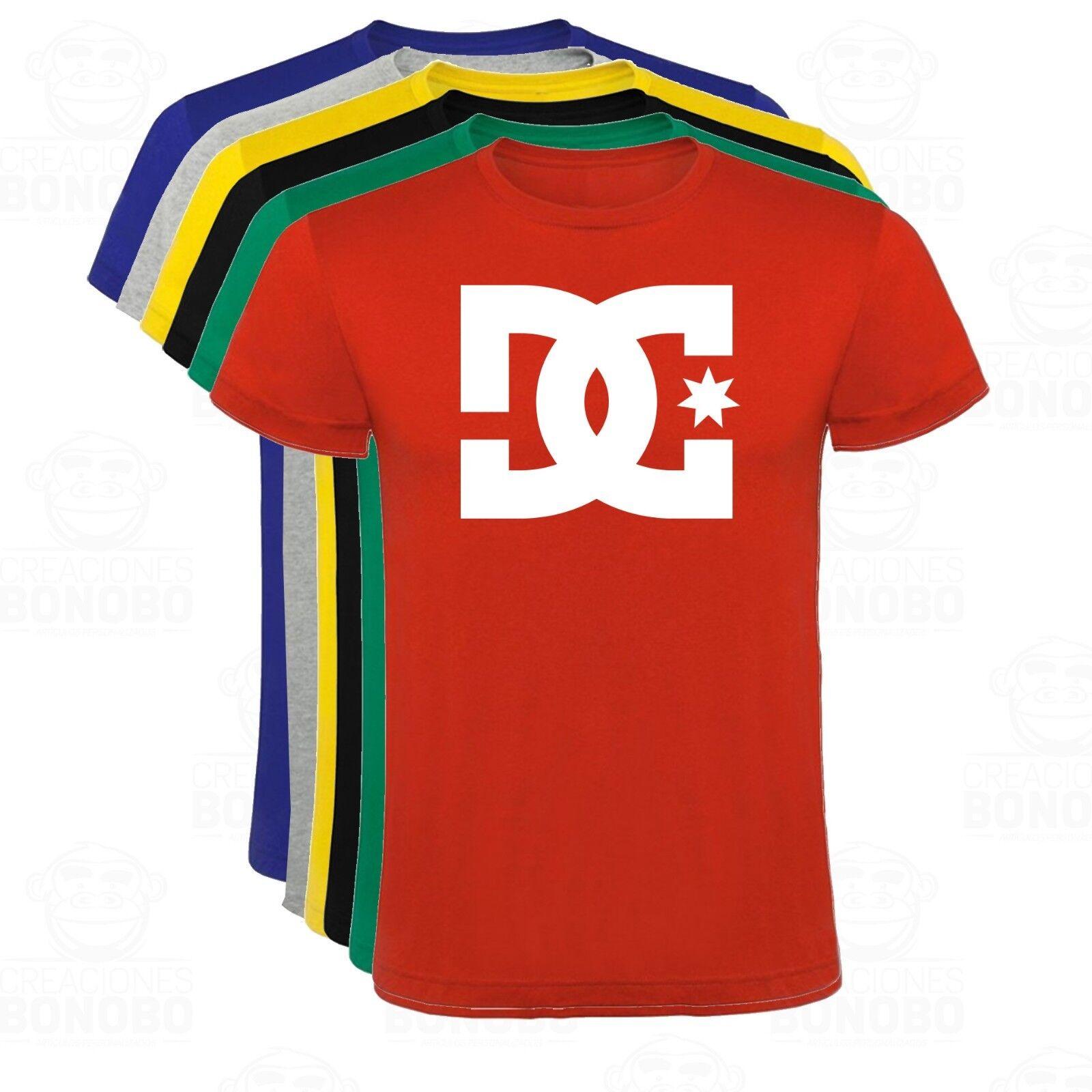 Camiseta DC shoes USA Skate estampada hombre tallas y colores
