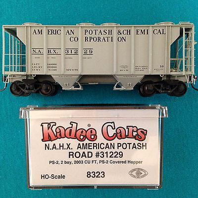 8323 Kadee Ho Nahx American Potash Covered Hopper Nib