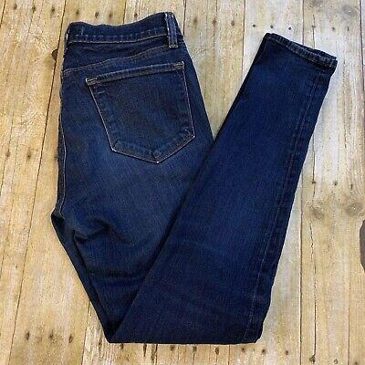 J Brand 620 Mid Rise Super Skinny Jeans 29 Starless Wash