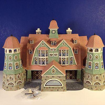 Dept 56 GRANDVIEW SHORES HOTEL w/ box Seasons Bay Village Large!