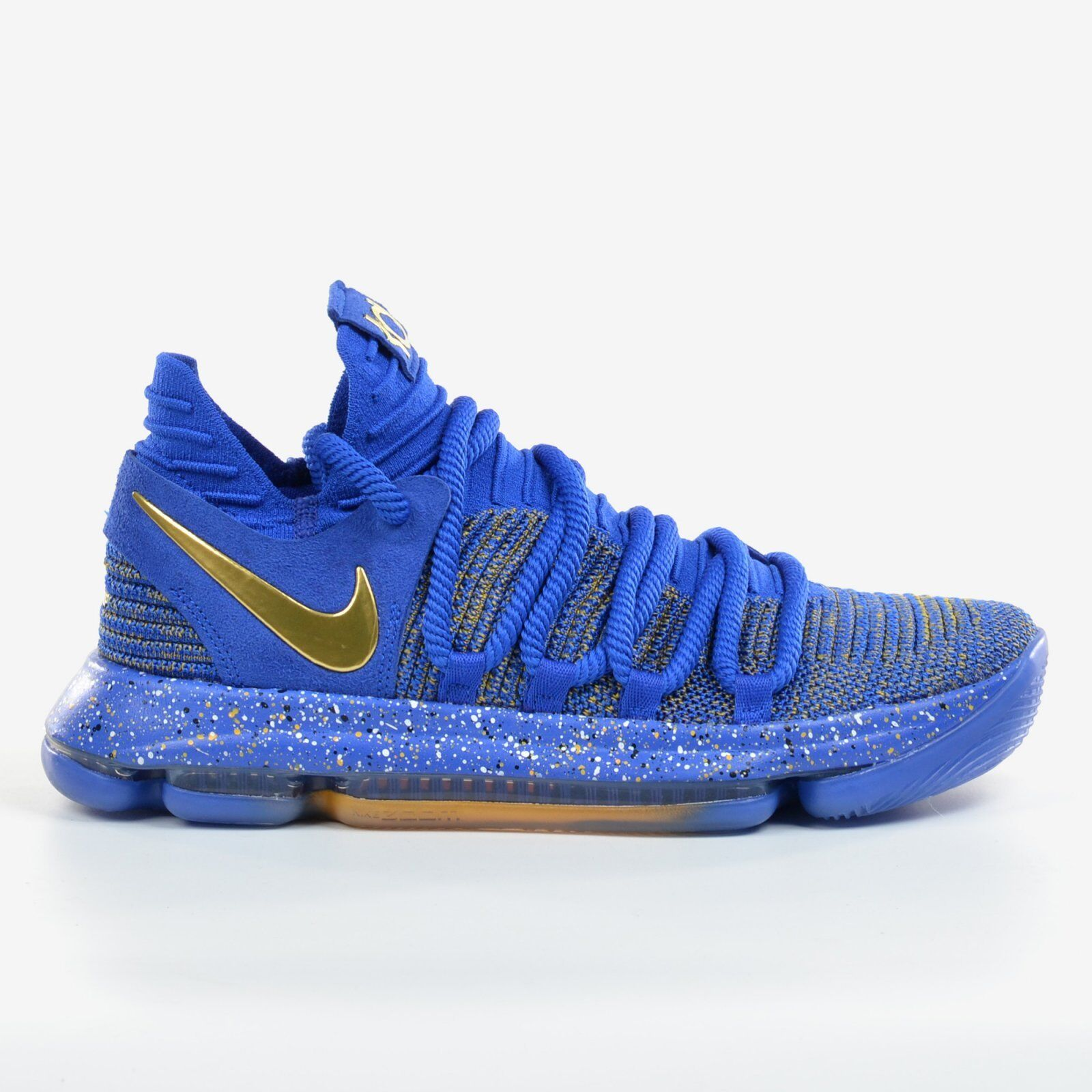 official photos 3a205 1bdce Nike Zoom KD 10 EP Racer Blue 2017 Finals MVP Metallic Gold FMVP X DS  897816-401