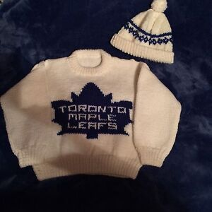 Toronto Maple Leafs Sweater and cap St. John's Newfoundland image 4