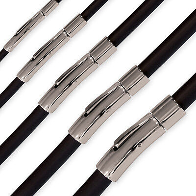 Kautschuk Kette Halskette Armband Choker Surfer 18-70 cm / 2, 3, 4, 5, 6 mm  ()