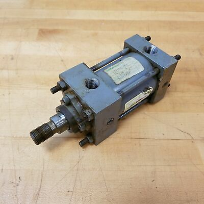 Miller A53b2b 2-12 Bore 1-58 Stroke Pneumatic Cylinder. - Used