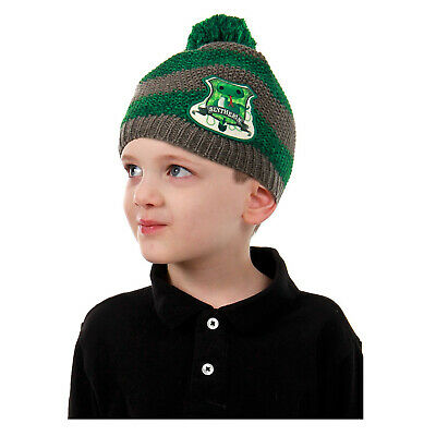 Slytherin Baby Clothes (Child Toddler Harry Potter Green Slytherin Malfoy Snape Costume Knit Beanie)