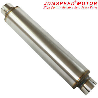 Universal Stainless Steel Exhaust Silencer Box 4
