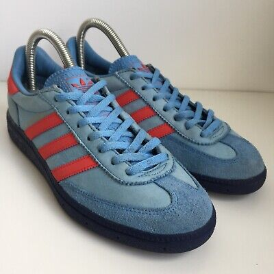 Adidas GT Manchester Spezials Blue Red Size 5.5 Trainers Rare