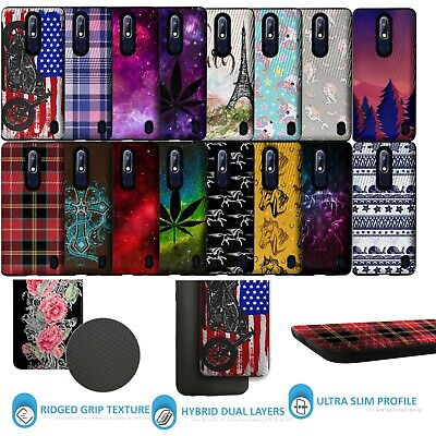 For Nokia 3.1 Plus | Slim Fitted Heavy Duty Dual Layer Shock Combat Shell Case