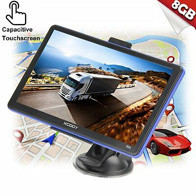 "XGODY 886 7"" 256MB 8GB GPS Truck Car GPS Navigation Lorry HGV Sat Nav FM US Maps"