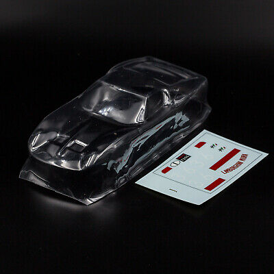 Slot Car Clear Body Lamborghini Miura Policar Super P400 Trasparente 1:24, usado segunda mano  Embacar hacia Spain