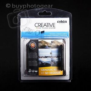 Cokin P Gradual Graduated Neutral Density ND Filter Kit H250 (P121L+P121M+P121S)