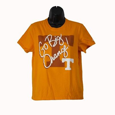 Women's adidas Tennessee Volunteers Go Big Orange Short Sleeve Shirt Top Size S Tennessee Volunteers Womens Short