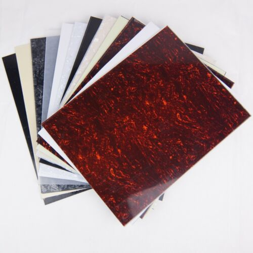 Pickguard Blank Sheet  315mm x 240mm Material for Electric Guitar or Bass