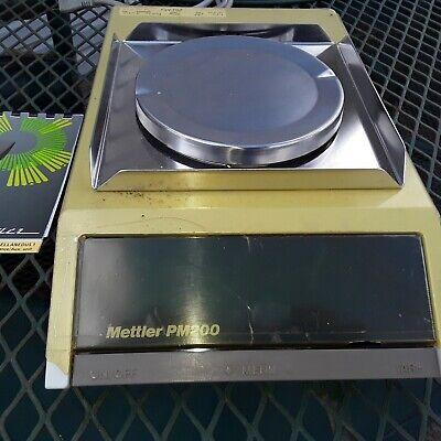 Mettler Toledo Pm200 Scale