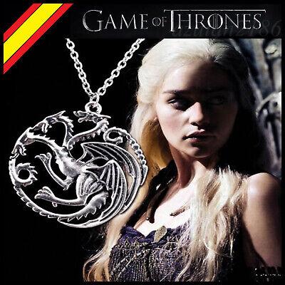 Colgante Llavero Juego de Tronos Targaryen Dragon Regalo Game of Thrones Collar