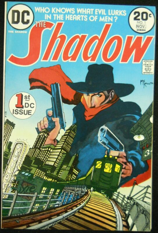 SHADOW #1 VF MIKE KALUTA