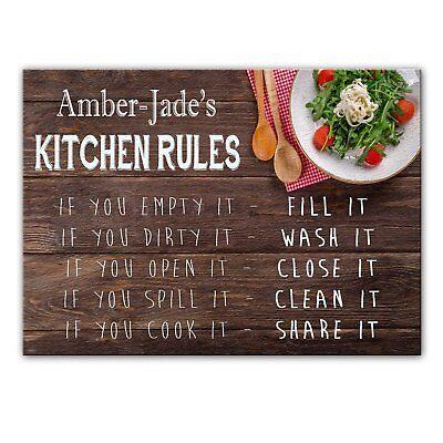 Amber Glas Schneiden (Amber-Jade's Küche Regeln - Glas Schneidebrett / Arbeitsplatte Sparer -)